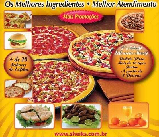 Sheiks Pizza e Burguer